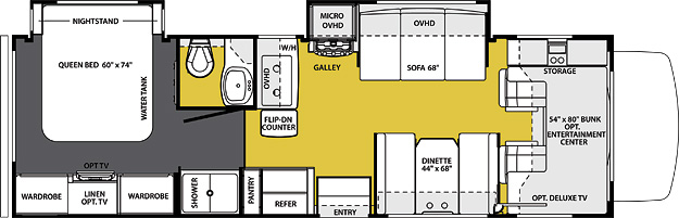 2860DS Floorplan